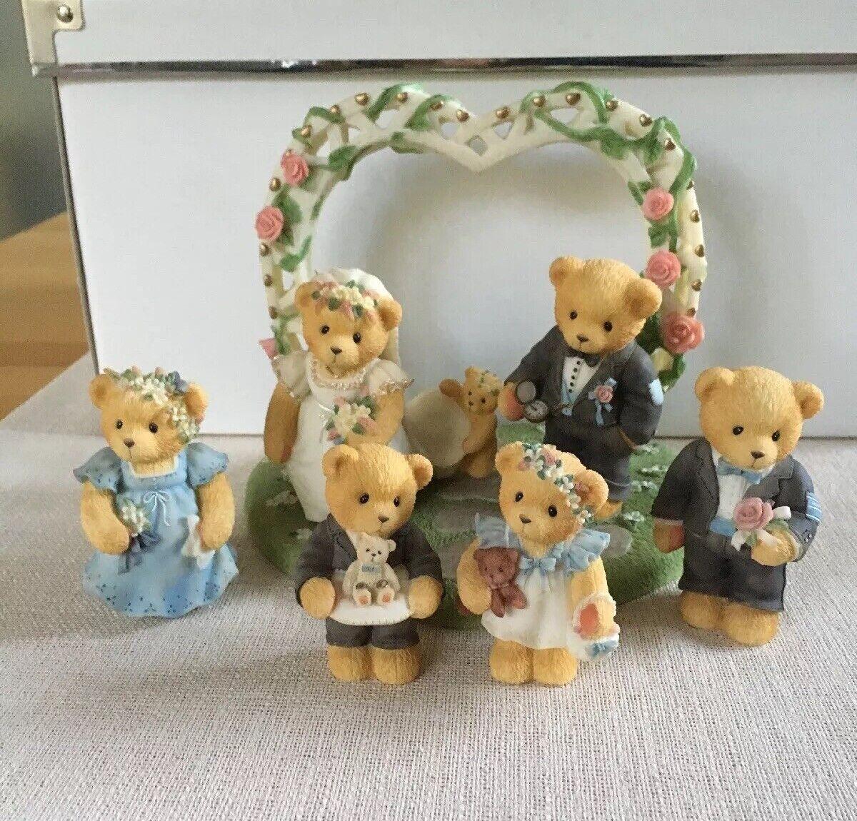 Cherished Teddies Hochzeit   Wedding komplett - 7-teilig