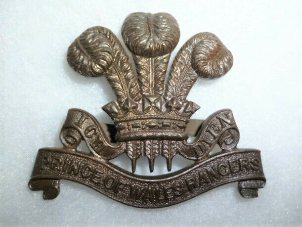 The Prince of Wales's Rangers (Peterborough Regiment) Officer's Bronze Cap Badge
