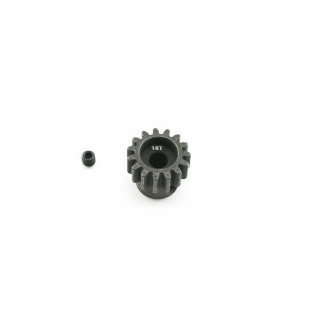 Hot Racing 16t Steel Mod 1 Pinion Gear 5mm NSG16M1
