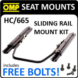 HC-665-OMP-SLIDING-SEAT-MOUNT-KIT-FOR-RACE-BUCKET-SEATS-WITH-FREE-FITTING-BOLTS