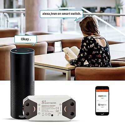 Wifi Ceiling Fan Light Lanterns Smart Switch Controller Timer APP Remote  Control | eBay