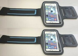 online store 84a1a 7fdf4 Details about 2-for-1 Mobile Cel Phone Armband - Runners Cyclist - iPhone 4  4s 5 5s Samsung s4