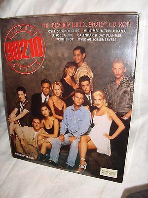 NEW Beverly Hills, 90210 CD-ROM  PC, 1995 Tori Spelling Luke Perry Jenny Garth