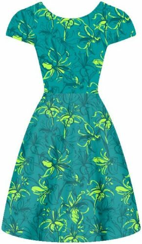"45/"" 16 mommy Lilies Jade and Lime 100/% Silk fabric Crepe de Chine"