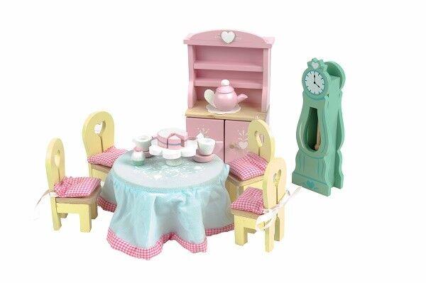 Le Toy Van ME 056 - Möbel Puppenhaus Möbel - - Daisylane Drawing Room - Eßzimmer e61278