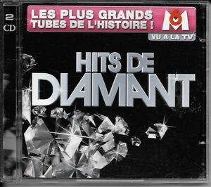2-CD-COMPIL-38-TITRES-HITS-DE-DIAMANT-WILLEMN-PAGNY-NOAH-BENT-BADI-HALLYDAY