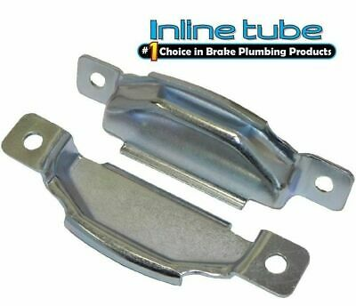 I-9-8 Inline Tube Rubber Transmission Crossmember Bracket Insulator Pair Compatible with 1964-72 Pontiac GTO and LeMans