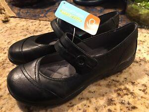 Baretraps Women S Memory Foam Black Mary Jane Shoes Double Strap