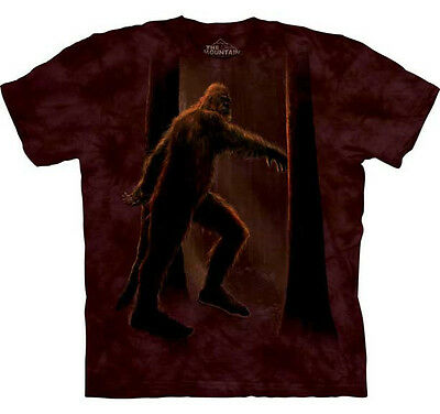 THE MOUNTAIN  BIGFOOT MONSTER SASQUATCH FOREST  T SHIRT
