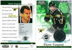 PACIFIC-EXCLUSIVE-2002-PIERRE-TURGEON-NHL-DALLAS-STARS-MINT-GAME-JERSEY-6