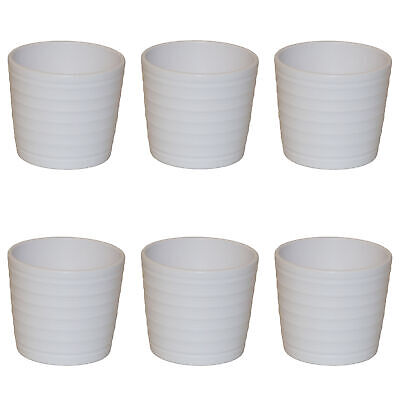 Keramik Hydro Blumenampel Venus 13//12 weiss Ø 17.5 cm H 15 cm