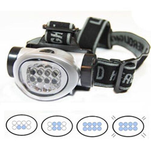 Headlamp Flashlight Multi Purpose Water Resistant 8 LED Headgear
