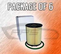 Cartridge Oil Filter L16162 For Dodge Fiat - Case Of 6 - Over 50 Vehicles
