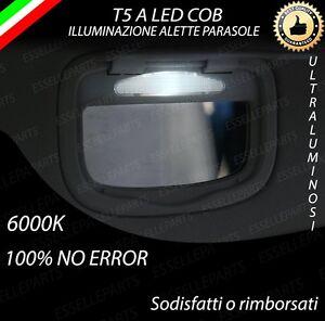 ALETTE-PARASOLE-T5-A-LED-PER-LANCIA-DELTA-MK2-6000K-ALTA-LUMINOSITA-039-NO-ERROR