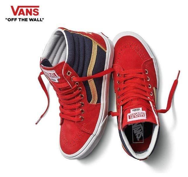 Vans VANS X MARVEL Sk8-Hi Captain Marvel Sneakers,shoes    Men's VN0A38GEUBI cf681f
