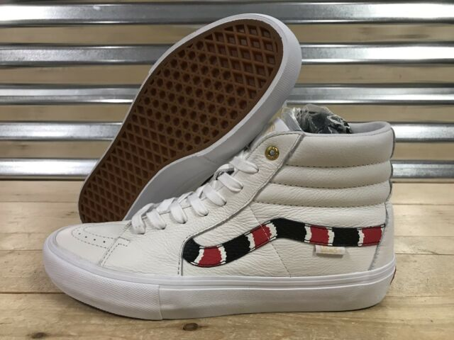 VANS Sk8 Hi Pro BMX Scotty Cranmer Skate Shoes Coral Snake Sz 9 (  VN0A45JVVGC )