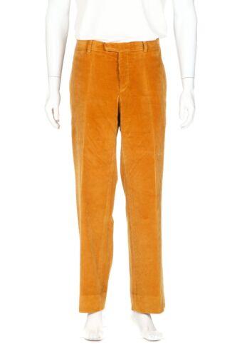 PRINGLE OF SCOTLAND Men's Corduroy Pants 36 Mustar