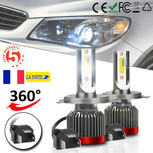 2X-H4-9003-MINI-LED-Phare-de-voiture-Ampoule-Auto-Hi-Lo-Beam-Lampe-Headlight-Kit