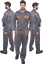 Portwest Mens Texo Contrast Coverall Boilersuit Knee Pad Pockets Work Wear TX15