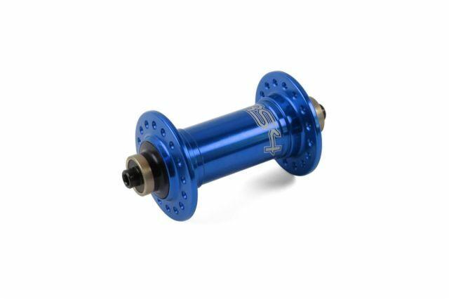 Hope RS4 Frontal Hub de bicicleta de carretera 100 X 24 agujero QR Azul