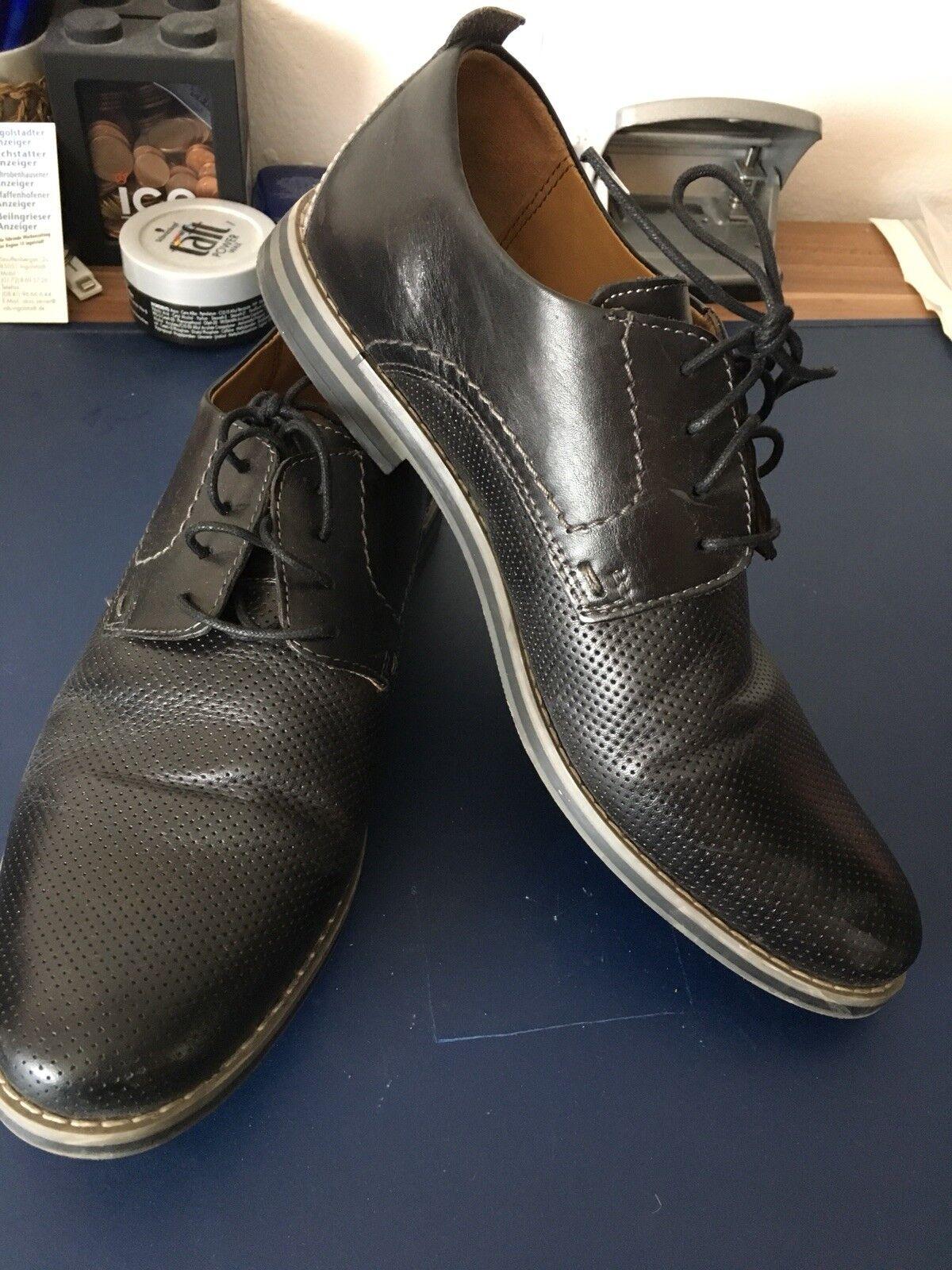 Billig hohe Qualität Lasocki Business/Anzugschuhe Schwarz Größe 42