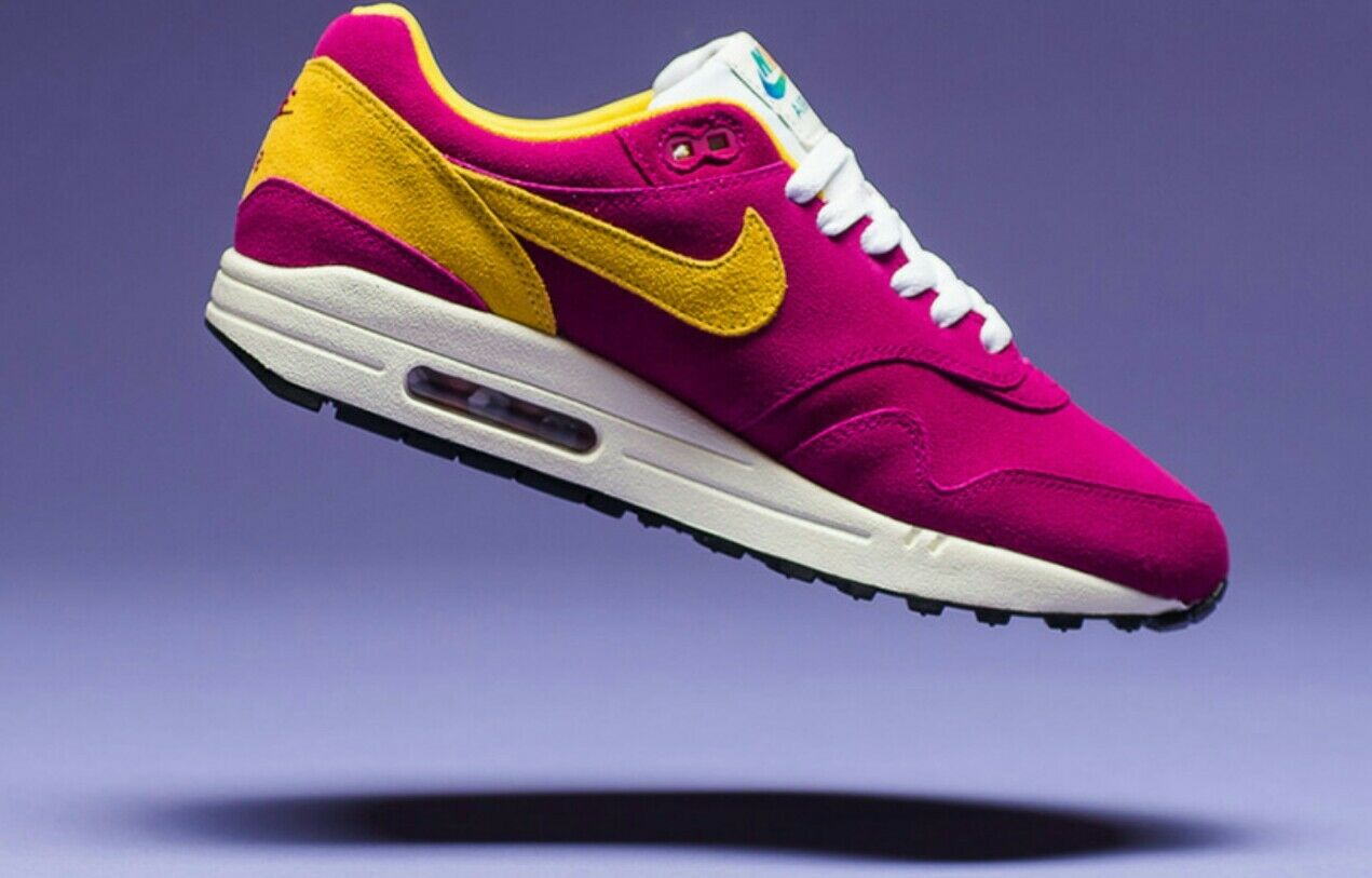 Nike Air Max 1 Premium 1987 30th Anniversary 875844 500 Athletic Lifestyle Shoe