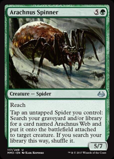MTG Magic - (U) Modern Masters 2017 - Arachnus Spinner - NM