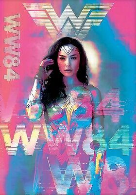 """Wonder Woman 1984 Poster 12x18/"""" 13x20/"""" Gal Gadot 2020 Movie Film Art Silk Print"""