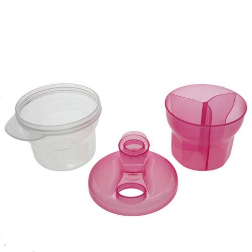 Travel Baby Formula Milk Powder Dispenser Container Storage Feeding Box Case