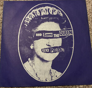 "Sex Pistols God Save The Queen 7"" Vinyl VS 181"