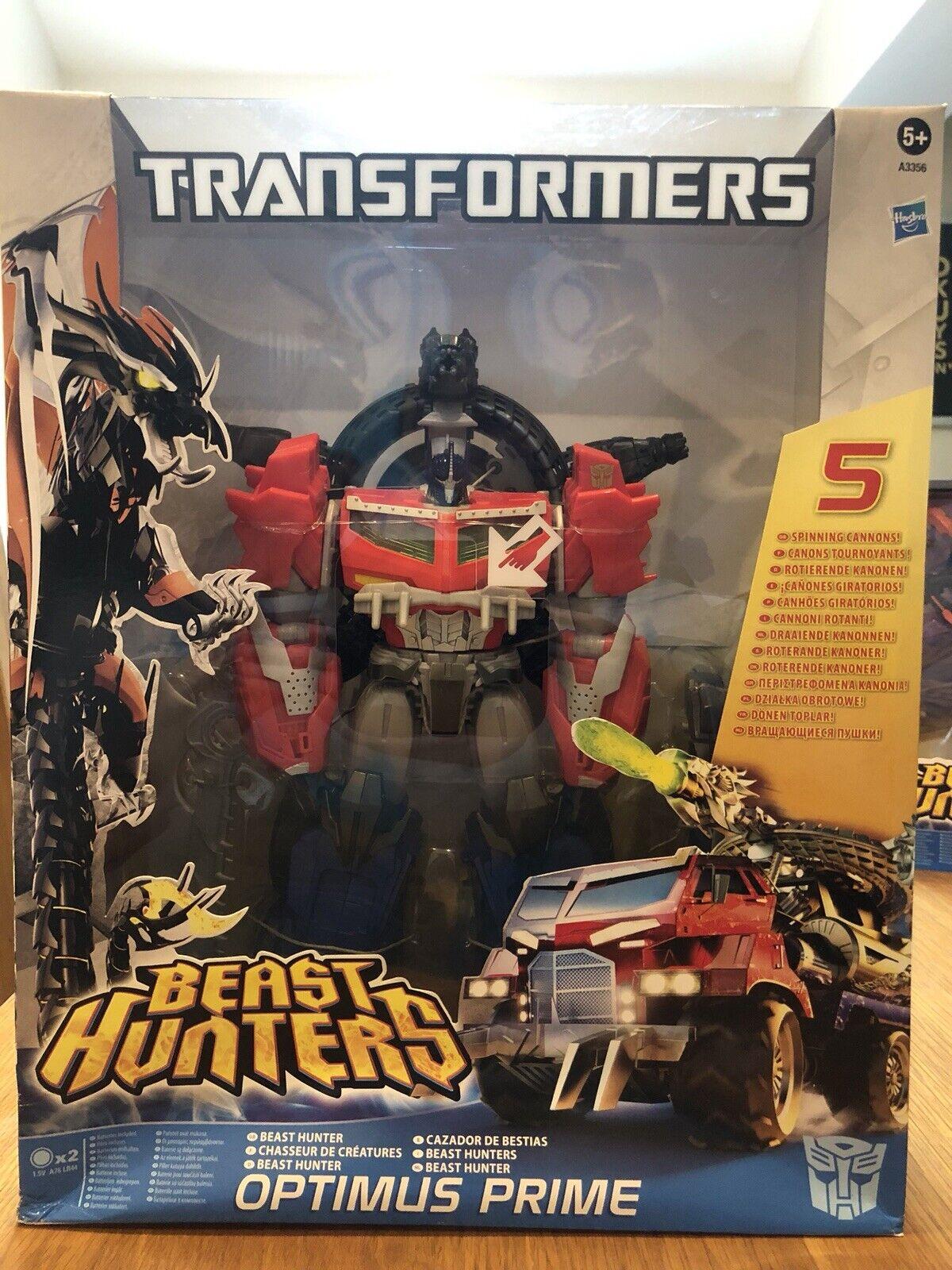 Transformers Hasbro Prime Beast Hunters Optimus Prime Misb
