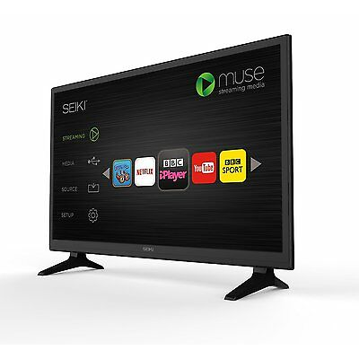 """NEW SEIKI HD-TV 28INCH SMART LED TV WITH BUILD-IN WI-FI AND FREEVIEW 28"""""""