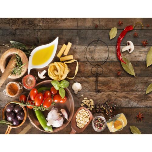 Vlies Fototapete Küche Gewürze Tapete Wandbilder XXL Wandtapete 9431bP
