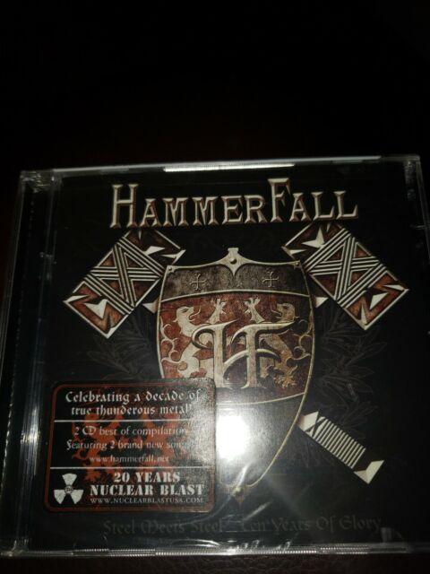 HAMMERFALL - STEEL MEETS STEEL: 10 YEARS OF GLORY NEW CD | eBay