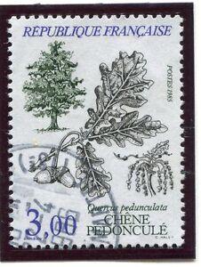 STAMP / TIMBRE FRANCE OBLITERE N° 2386 FLORE QUERCUS PEDUNCULATA