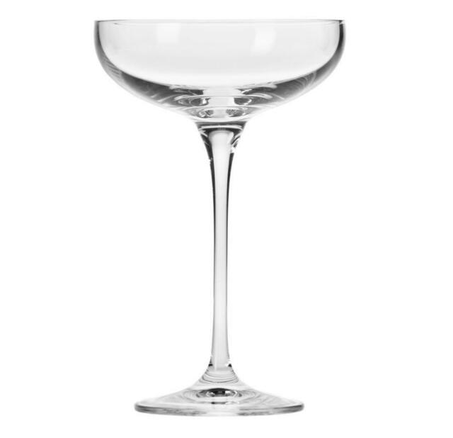Krosno Harmony Champagne Coupe 240ml 6 Piece Set