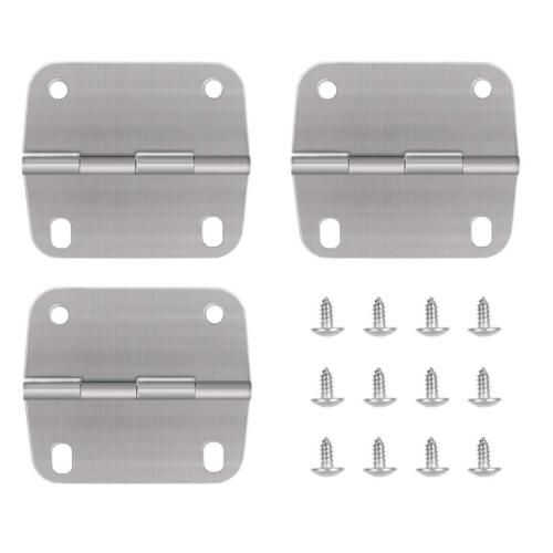 3 Pack Stainless Steel Replace Cooler Hinges and Screws for Coleman Coolers