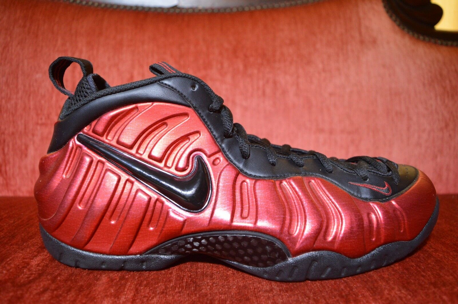 uk availability aa5b9 1282b ... france clean nike 624041 604 air foamposite pro university red black  624041 604 nike size 65a85