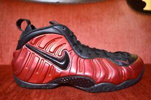 size 40 df82a 35b1c Image is loading CLEAN-Nike-Air-Foamposite-Pro-University-Red-Black-