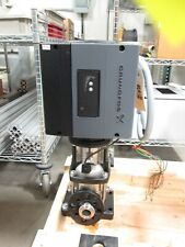 Grundfos Crne5 3 Centrifugal Pump With Vfd In Line Foundation Mount 460 480vac