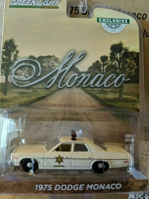 HAZZARD COUNTY SHERIFF 1975-30 DODGE MONACO GREENLIGHT COLLECTIBLES 1//64