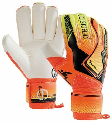 47fff23fd56 Precision Junior Heat on Goalie Football Goalkeeper Gloves Goal Keeper  Sizes 4-7 4 PRG7644 for sale online