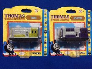 Ertl DODGE & SPLATTER (year 2000) Thomas and the Magic Railroad set NEW