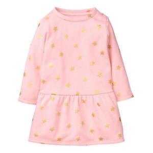 6d6fb08b91b0 NWT Gymboree Winter Star Star Warm and Fuzzy Dress Toddler Girl 3T ...