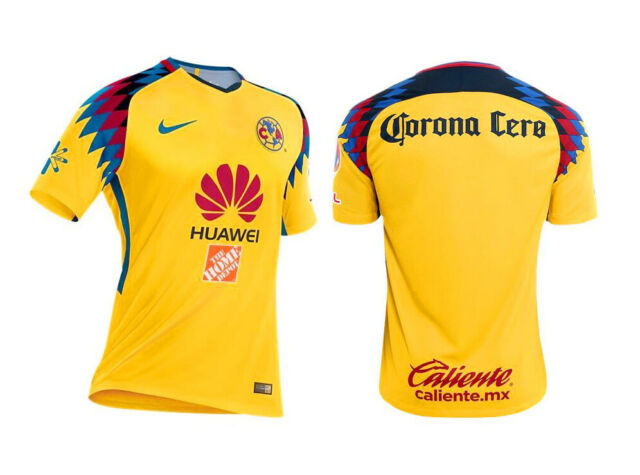 fd1c1075584 Nike Club America Official 2017 2018 Third Soccer Football Jersey S ...