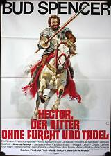 Hector der Ritter ohne Furcht und Tadel Filmposter A1 Bud Spencer Soldato di