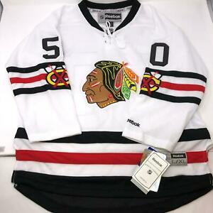 NWT-NHL-Crawford-Chicago-Blackhawks-Reebok-Stitched-Jersey-Youth-Size-L-XL