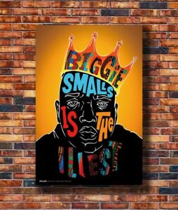 Art The Notorious Big Biggie Smalls 20x30 24x36in Poster Hot Gift