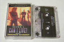 SEVEN L - CAN I LIVE? PROMO TAPE / CASSETTE 1999 (TRAGEDY KHADAFI) Ill Bill Reks
