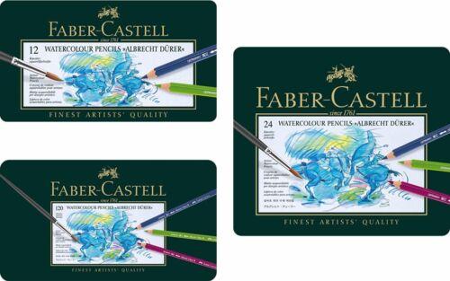 Faber Castell Albrecht Durer Artists/' watercolour pencils tin 12 24 36 60 120